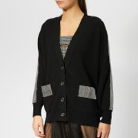 Christopher Kane Women's Crystal Band Cardigan - Black - XS - Black