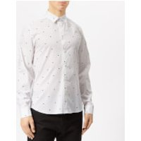 KENZO Men's All Over Eye Shirt - White - FR 43/17.5  - White