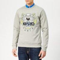 KENZO Men's Icon Sweatshirt - Pearl Grey - XXL - Grey