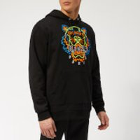 KENZO Men's Icon Neon Hoodie - Black - XL - Black