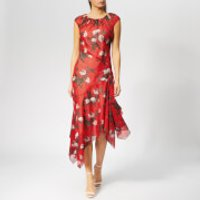 HUGO Women's Kefesha Dress - Red - UK 12 - Red