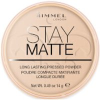 Rimmel Stay Matte Pressed Powder (Various Shades) - Peach Glow