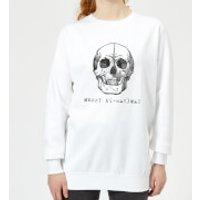 Merry X(-Ray) Mas Women's Christmas Sweatshirt - White - XXL - White