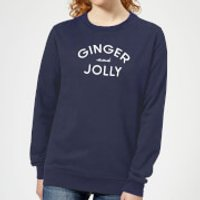 Ginger and Jolly Women's Christmas Sweatshirt - Navy - M - Navy