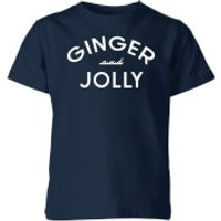 Ginger and Jolly Kids' Christmas T-Shirt - Navy - 7-8 Years - Navy