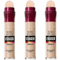 Maybelline Eraser Eye Concealer Light x 3 (Worth PS26.97)