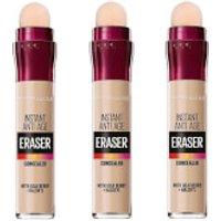 Maybelline Eraser Eye Concealer Light x 3 (Worth PS26.97)