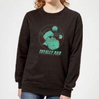 Totally Rad Christmas Women's Sweatshirt - Black - XS - Schwarz