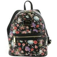 Loungefly Disney Alice in Wonderland Rabbit Floral Aop Backpack - Backpack Gifts