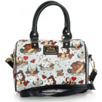 Loungefly Disney Beauty and the Beast Belle Tattoo Aop Bag - Bag Gifts