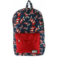 Loungefly Dr. Seuss Cat in the Hat AOP Backpack - Hat Gifts