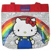 Loungefly Hello Kitty 40th Sequins Rainbow Tote Bag - Hello Kitty Gifts