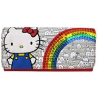Loungefly Hello Kitty 40th Sequins Rainbow Wallet - Hello Kitty Gifts