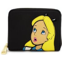 Loungefly Disney Alice in Wonderland Surprised Zip Around Wallet - Wallet Gifts