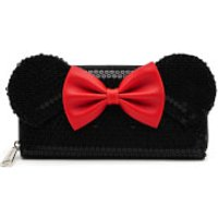 Loungefly Disney Mickey Mouse Minnie Sequin Zip Around Wallet - Wallet Gifts