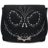 Loungefly Disney The Nightmare Before Christmas Jack Studded Flap Cross Body Bag - Bag Gifts