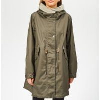 Woolrich Womens Over Parka Jacket - Tropical Green - L