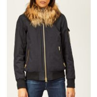 Woolrich Womens Silverdale Bomber Jacket - Clay - L