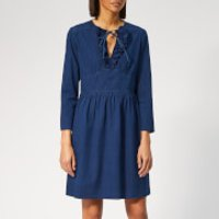 A.p.c. Poppy Denim Dress - Indigo
