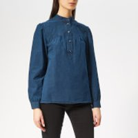 A.p.c. Loula Denim Shirt - Indigo