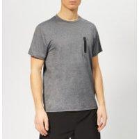 LNDR Men's Tech T-Shirt - Charcoal Marl - M - Grey