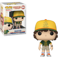 Stranger Things Dustin At Camp Pop! Vinyl Figure - Stranger Things Gifts
