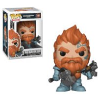Warhammer 40K Space Wolves Pack Leader Pop! Vinyl Figure - Games Gifts