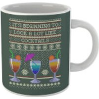Its Beginning To Look A Lot Like Cocktails Mug - Cocktails Gifts