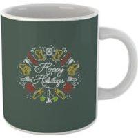 Hoppy Holidays Mug - Holidays Gifts