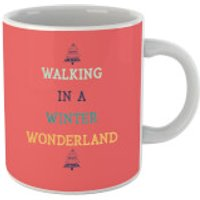 Walking In A Winter Wonderland Mug - Walking Gifts