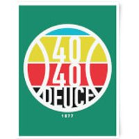 40 40 Deuce Art Print - A3 - No Hanger