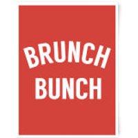 Brunch Bunch Art Print - A3 - Black Frame