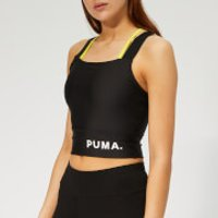 Puma Womens Chase Crop Top - Puma Black - XS - Black