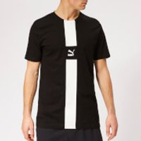 Puma Mens XTG Short Sleeve T-Shirt - Cotton Black - M - Black