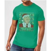 Make Christmas Great Again Men's Christmas T-Shirt - Kelly Green - M - Kelly Green