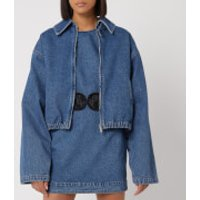 Christopher Kane Womens Sexual Cannibalism Jacket - Blue - I