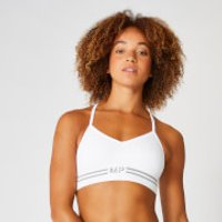 MP Seamless Crop Bra Top - White - M