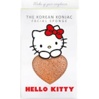 The Konjac Sponge Company Sanrio Hello Kitty Konjac Sponge Box and Hook - Pink Clay 30g