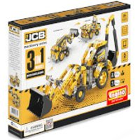 Engino JCB Back Hoe Loader - Jcb Gifts