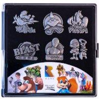Image of Rare Heritage Gaming Pin Badge Limited Edition Set