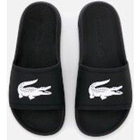 Lacoste Women's Croco Slide 119 3 Sandals - Black/White - UK 8 - Black/White