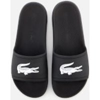 Lacoste Men's Croco Slide 119 1 Sandals - Black/White - UK 9 - Black/White