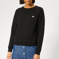 Maison Kitsune Women's Sweatshirt Tricolor Fox Patch - Black - S