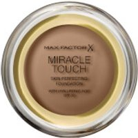 Max Factor Miracle Touch Foundation 11.5g (Various Shades) - Toasted Almond