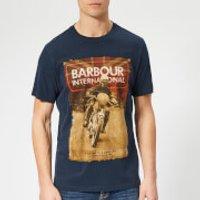 Barbour International Men's Archive T-Shirt - Navy - S - Blue