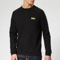 Barbour International Men's Essential Crew Sweatshirt - Black - L - Black