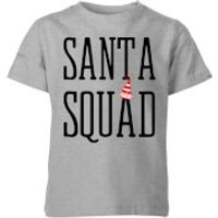 Santa Squad Kids' T-Shirt - Grey - 7-8 Years - Grey