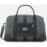 Armani Exchange Men's Duffle Bag - Dark Grey/Black