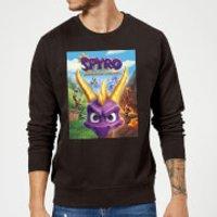 Image of Spyro Face Scene Sweatshirt - Black - 4XL - Black