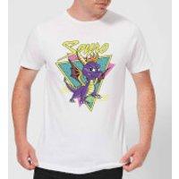 Spyro Retro Men's T-Shirt - White - S - White